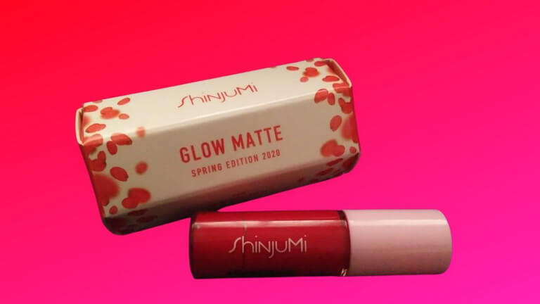 Review Glow Matte Lip Cream ShinjuMi Warna Kekinian